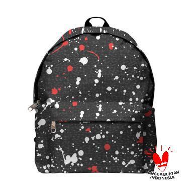 Fika Store Speckle Art 2 Backpack Tas Ransel Pria c356f75f65033