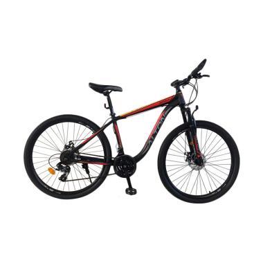 harga ALTON Battle 1.0 Sepeda MTB - Hitam Orange [27.5 Inch/ 24 Speed] Blibli.com