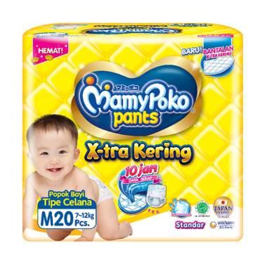 Mamy Poko Pants Standar Diapers Popok Celana Sekali Pakai [Size M/ 20 pcs]