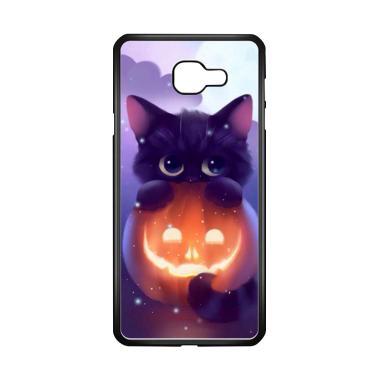 harga Acc Hp Halloween Cat L0018 Custome Casing for Samsung Galaxy A7 2017 Blibli.com