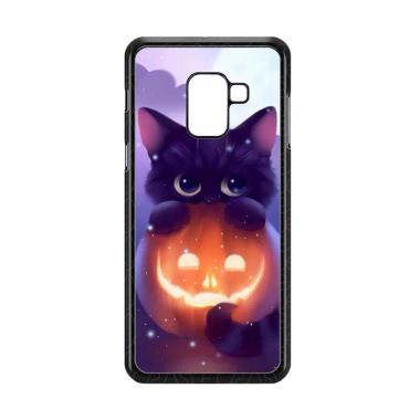 harga Acc HpHalloween Cat L0018 Custome Casing for Samsung Galaxy A8 Plus 2018 Blibli.com
