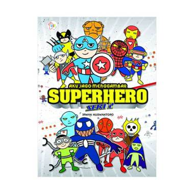 harga Cerdas Interaktif Aku Jago Menggambar Superhero Seri 2 Buku Gambar & Mewarna Blibli.com