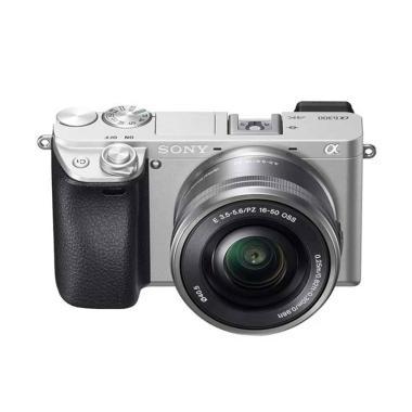 SONY Alpha A6400 Kit 16-50mm Kamera Mirrorless Silver