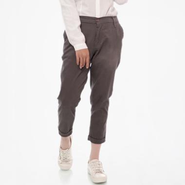 Zahra Signature Bigsize Cropped Twill Pant Celana Muslim Wanita