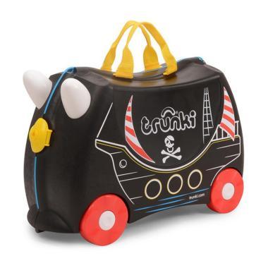 harga Trunki Ride On Pull Along Children's Suitcase Pedro Pirate Tas Sekolah Anak Blibli.com