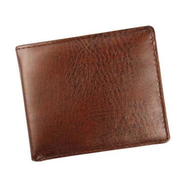harga Bluelans ID Card Holder Zipper Pocket Money Clip Business Men Bifold Wallet BLACK Blibli.com