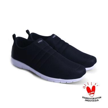 Sepatu On 081 Slip Hitamv Varka Pria USqVzMp