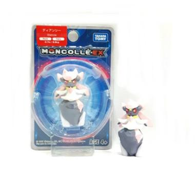 Takara Tomy 963634 #30 Monocolle EX Diancie Asia 19 Action Figure