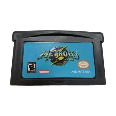 harga Bluelans Metroid Fusion Game Cartridge Card for Nintendo GBA USA Version Blibli.com