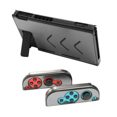 harga Bluelans Anti-scratch Dustproof Hard Protective Case Cover for Nintendo Switch NS Console - Grey Blibli.com
