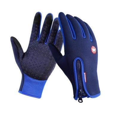 harga FS - Bluelans Winter Touch Screen Motorcycle Fishing Outdoor Sports Mittens Skiing Gloves [Size L] Blibli.com