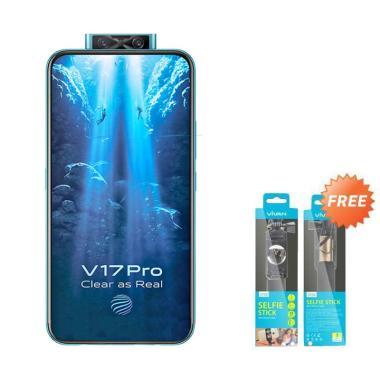 harga VIVO V17 Pro Smartphone [128GB/ 8GB] + Free Tongsis Vivan Blibli.com