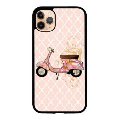 harga Hardcase Casing Custom iPhone 11 Pro vespa classic pink L0796 Case Cover Blibli.com