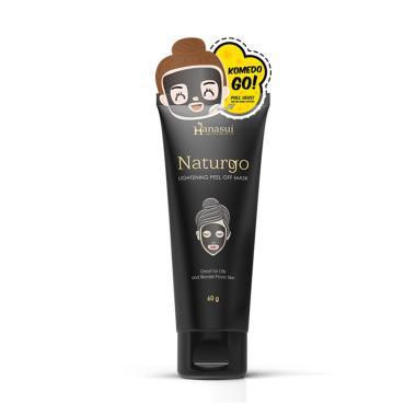 harga Hanasui Naturgo Lightening Peel Off Mask Masker Wajah [Tube] Blibli.com