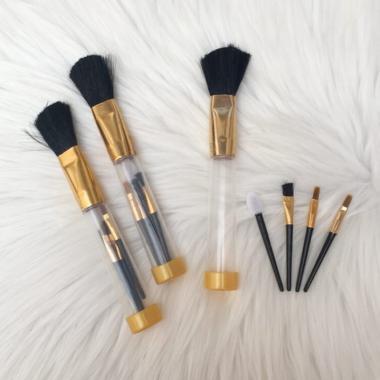 harga Prime Set Kuas Make Up - Gold [5 pcs] Blibli.com