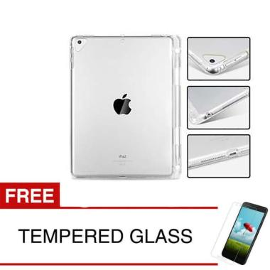harga SoftCase for Apple iPad Mini 2 2013 - 7.9 inch - Clear - With Apple Pencil Slot - Gratis Tempered Glass - - clear Blibli.com