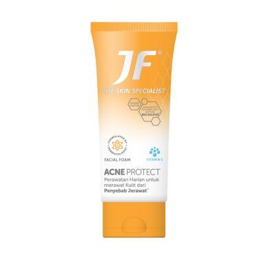 Jual Jf Sulfur Acne Protect Blue Expression Sabun Jerawat 90 G Online Februari 2021 Blibli