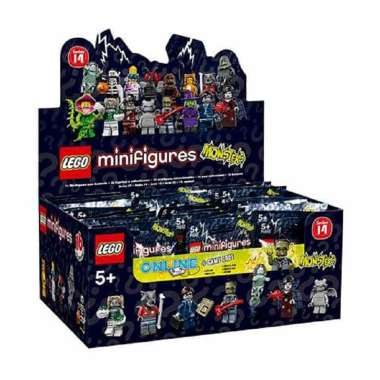 harga Lego 71010 Minifigures Series [14 Box/ 60 pcs] Blibli.com