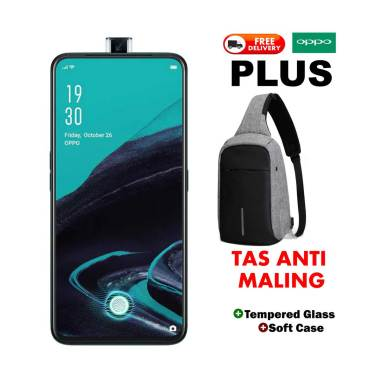 harga OPPO Reno 2F Smartphone + Free Tas Anti Maling [128 GB/ 8 GB] Blibli.com