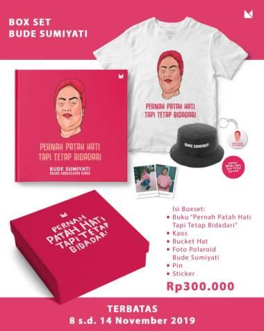 harga Boxset Bude Sumiyati - Pernah Patah Hati  Tapi Tetap Bidadari Blibli.com