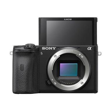 SONY Alpha A6600 ILCE-6600 Kamera Mirrorless - Hitam [Body Only/ Garansi Resmi Sony Indonesia 1 Tahun]