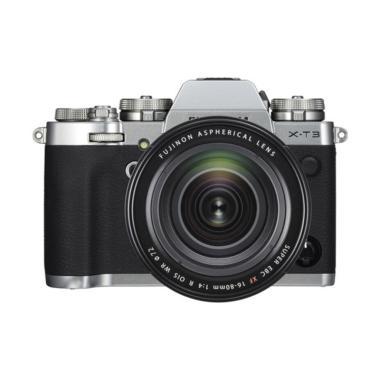harga Fujifilm X-T3 Kit XF 16-80mm Kamera Mirrorless Free 2pc NP-W126s, Leather Case, MUG Cup XF 16-55mm - Braga Photo Video Blibli.com