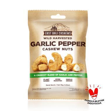 harga East Bali Cashews Garlic Papper Makanan [35 g] Blibli.com
