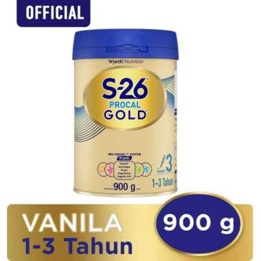 Wyeth S26 Procal Gold Tahap 3 Vanila Susu Formula [900 g]