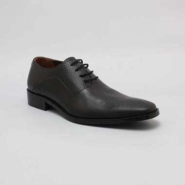 Buccheri Dakarai Lace Up Sepatu Pria - Black
