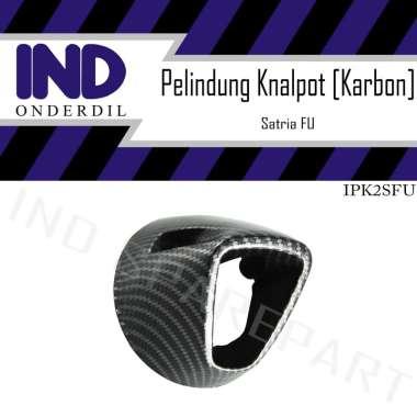 harga IND Onderdil Carbon Cover Pelindung Knalpot Motor for Satria FU 150 HItam Blibli.com