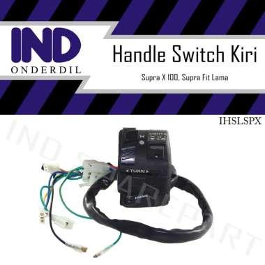 harga IND Onderdil Holder Handle Saklar Switch Kiri Motor for Supra X 100 Lama-Supra Fit Old HItam Blibli.com