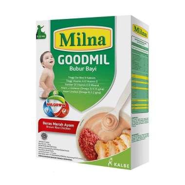 harga MILNA Bubur Bayi Goodmil 6+ 120 gr - Wortel Labu Blibli.com