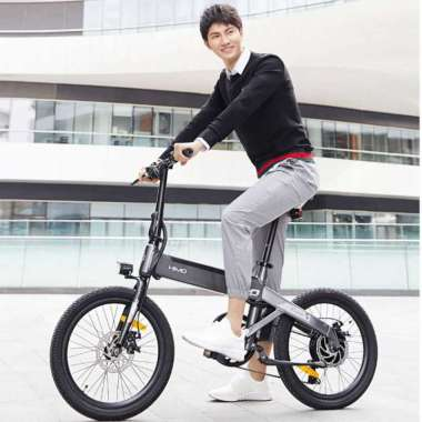 harga HIMO C20 Sepeda Elektrik Smart Moped Bicycle 250W 80KM Blibli.com