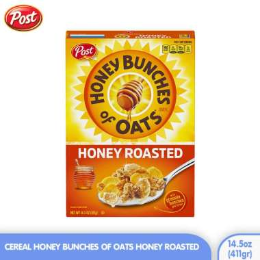 harga POST Cereal Honey Bunches of Oats Honey Roasted 14.5oz (411gr) Blibli.com
