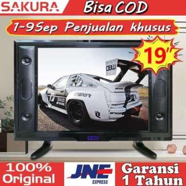 harga Sakura tv led 19 inch tv murah HD Televisi TCLG-S19K 19 inch - Blibli.com