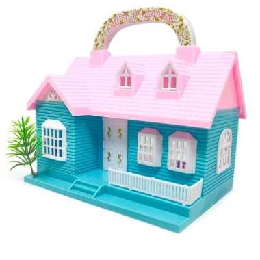 harga Mainan Anak Rumah Rumahan Boneka Lengkap Dengan Perabotan 113A Blibli.com