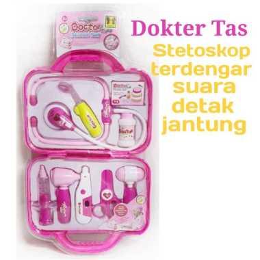 harga Amanah Toys Mainan Anak Dokter Dokteran Tas Koper Suara Lampu Edukasi Toys Nurse Blibli.com