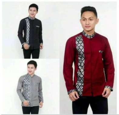 Model Baju Batik Kombinasi Polos Harga Terbaru Maret 2021 Blibli