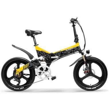 harga TaffSPORT Lankeleisi Sepeda Elektrik Lipat Smart Moped Deluxe Version 48V 10.4Ah - G650 Blibli.com