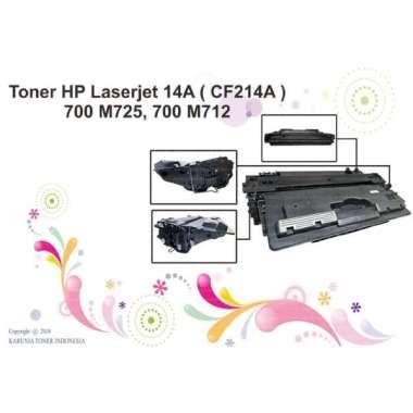 harga Cartridge Compatible Toner HP Laserjet 14A ( CF214A ) Monochrome Blibli.com