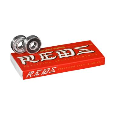Bones Super REDS Precision Skate Bearings [8 pack]
