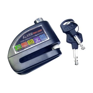 Fortuna Gembok Alarm Disc Cakram Motor - Hitam