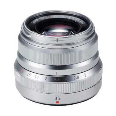Fujifilm XF 35mm f/2 R WR Lens - Silver Silver