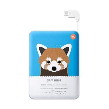 Samsung Animal Powerbank - Blue [8.400 mAh]