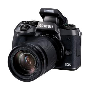 Canon EOS M5 Kit 18-150mm IS STM Ka ... een Guard + Extra Battery