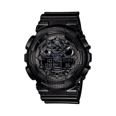 Casio G-Shock GA-100CF-1ADR Jam Tangan Pria - Hitam