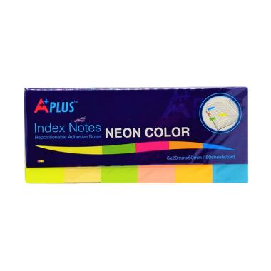 Aplus Index Sticky Note Neon Color