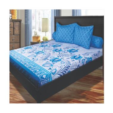 My Love Royal Blue Set Sprei [180x200 cm]