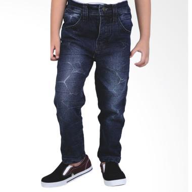 Syaqinah 299 Celana Panjang Anak Laki-Laki - Biru