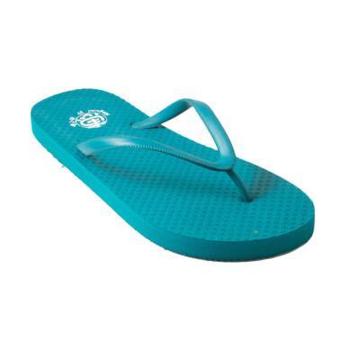 Megumi Basic Sandal Jepit Wanita - Green